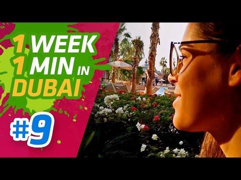 LET'S GO TO ATLANTIS IN DUBAI! 🌴🐚 - 1 Week in 1 Minute in Dubai #9