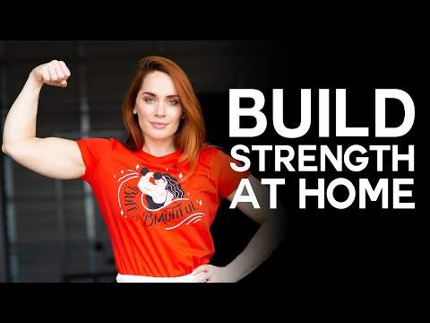 Build Strength at Home while Social Distancing • Full Body Bodyweight Workout