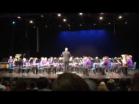 Wydown Middle School 7th Grade Band playing Korean Folk Song Medley