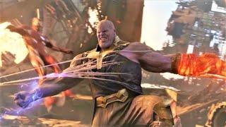 Yenilmezler vs Thanos  Kapışma Sahnesi  HD