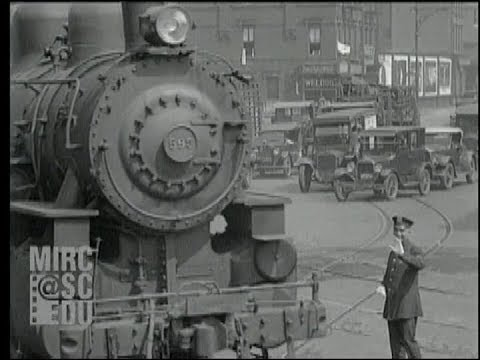 New York Central: the West Side Line in 1927 and 1928 [Silent and Sound]