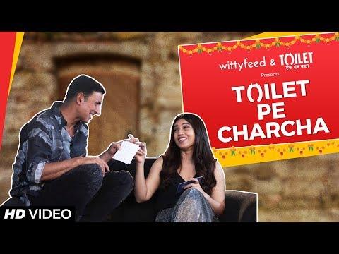 Toilet Pe Charcha with Akshay & Bhumi | Toilet Ek Prem Katha | WittyFeed