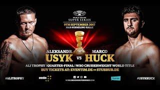 Usyk vs Huck - WBSS Season I: Cruiserweight QF1