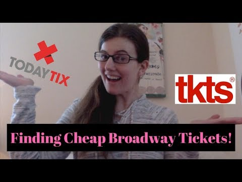 Finding Cheap Broadway Tickets!