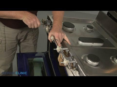 Manifold Assembly - Kitchenaid Double Oven Gas Range (Model #KFGD500ESS04)
