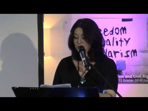 Maryam Namazie: Secularism is our response to the Religious-Right (Secular Conference)
