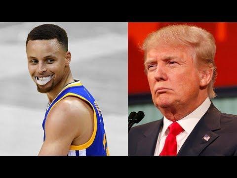 Steph Curry TROLLS Donald Trump