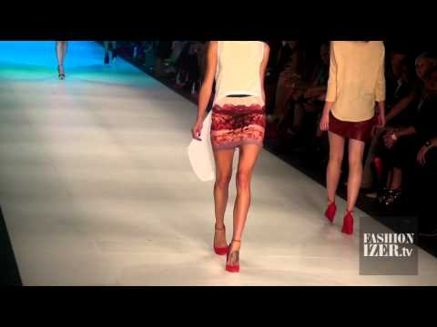 White Suede Winter 2012 Collection at L'Oreal Melbourne Fashion Week & Interview | Fashionizer.tv