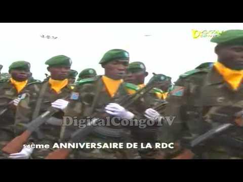 FARDC Eloko ya Makasi. 54 eme Anniversaire de la RD CONGO