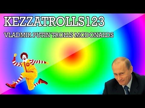 Vladimir Putin Trolls McDonalds