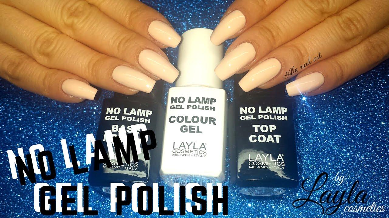 NO LAMP GEL POLISH by LAYLA Cosmetics #laylabeautyevent | Ale nail ...