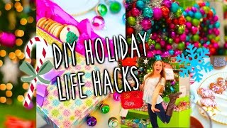 Easy DIY Holiday Life Hacks! Thumbnail