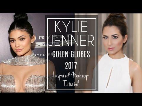 KYLIE JENNER Golden Globes   Chatty Makeup Tutorial   JASMINA BHARWANI