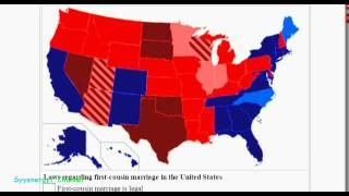 1st Cousin Marriage More Popular than Same Sex Marriage??
