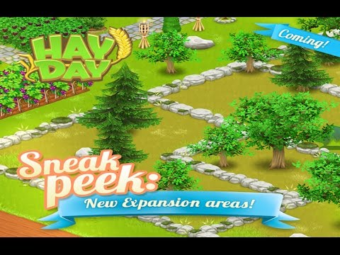 Hay Day Update March 2017 - Sneak Peek 1 - New Land Expansion