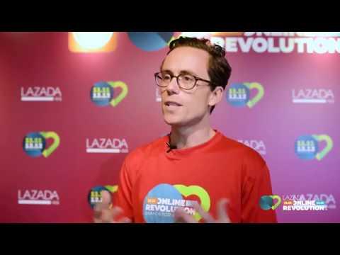 Lazada Singapore's CEO Introduces Online Revolution 2016