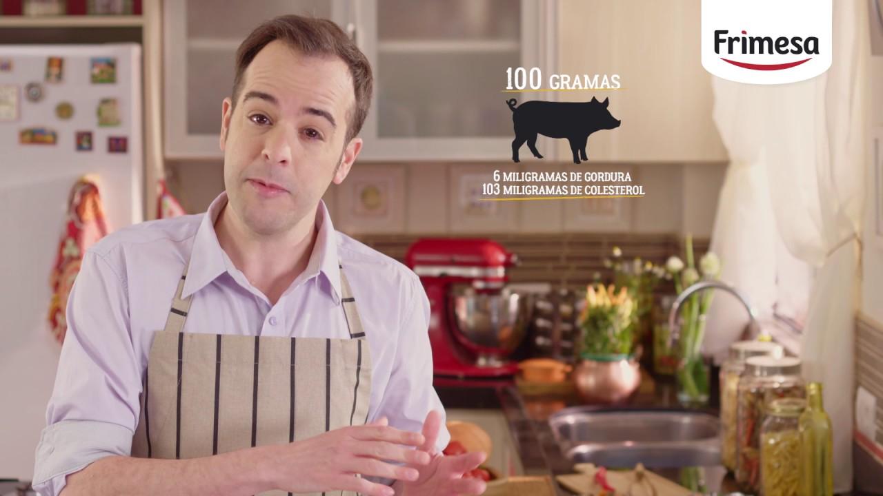 Carne suína tem mais colesterol