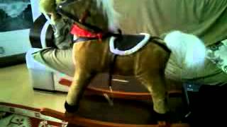 Big Kid horse toy with singing cowboy song and running