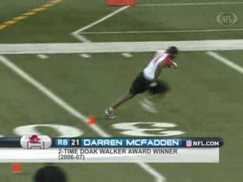 2008 Combine: Darren McFadden