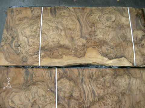 Walnut Burl Veneer Youtube