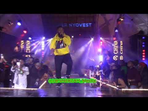 Cassper Nyovest - Ksazobalit  Live Performance In Cape Town