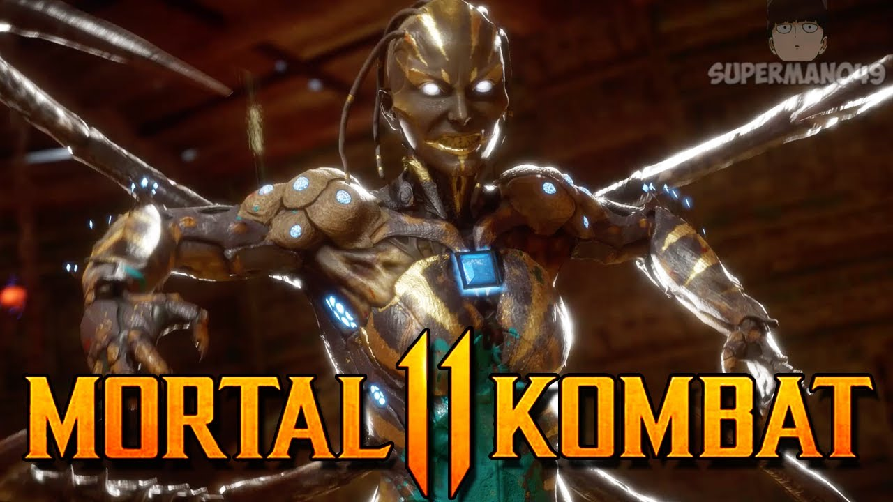 "Amazing Brutality Finish With Kotal's Baby - Mortal Kombat 11: ""D'vorah"" Gameplay"