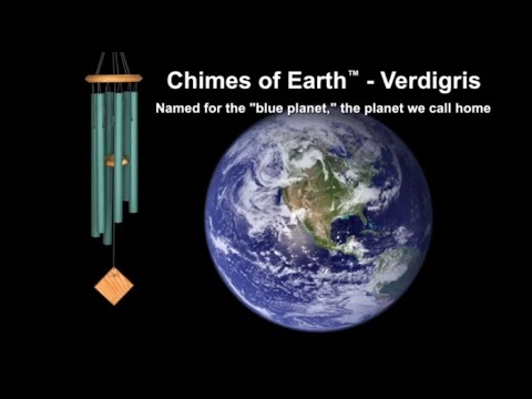 Chimes of Earth - Verdigris by Woodstock Chimes Thumbnail