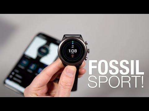 FOSSIL SPORT Unboxing And First Look!