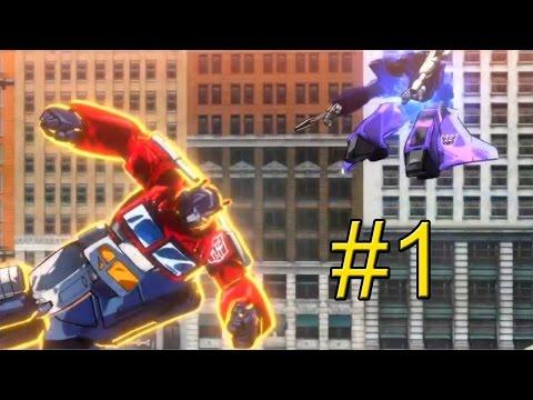 Transformers Devastation прохождение часть 1 {PC} — Опустошение
