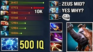 EPIC SICK PLAY Scepter Magnus vs Zeus Mid Carry All Team Like a Boss Insane Game WTF Dota 2