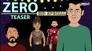 Zero Teaser Featuring Virat Kohli and Dhoni | ShahRukh Khan Movie Zero | Zero movie Trailer Funny