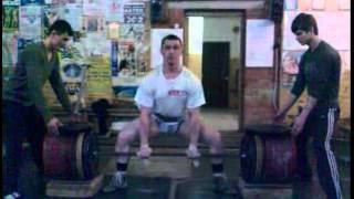 RAW deadift 500 kg (@90 kg) Vadim Zamornikov