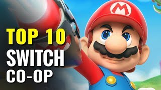 Top 10 Switch Co-op Games of All Time