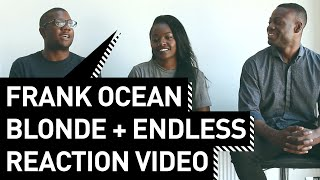 Frank Ocean Blonde + Endless Reaction Video #18