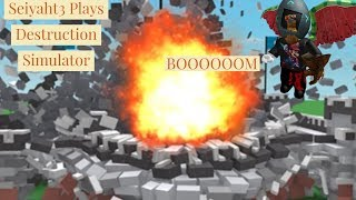 Roblox Destruction Simulator: Bored and Lag