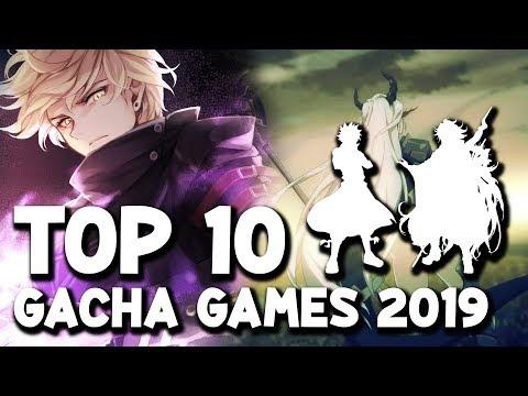 Top 10 Gacha Games Until 2019 So Far