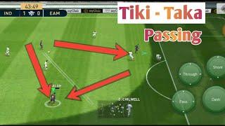 Tiki - Taka Passing In Pes 2019 mobile