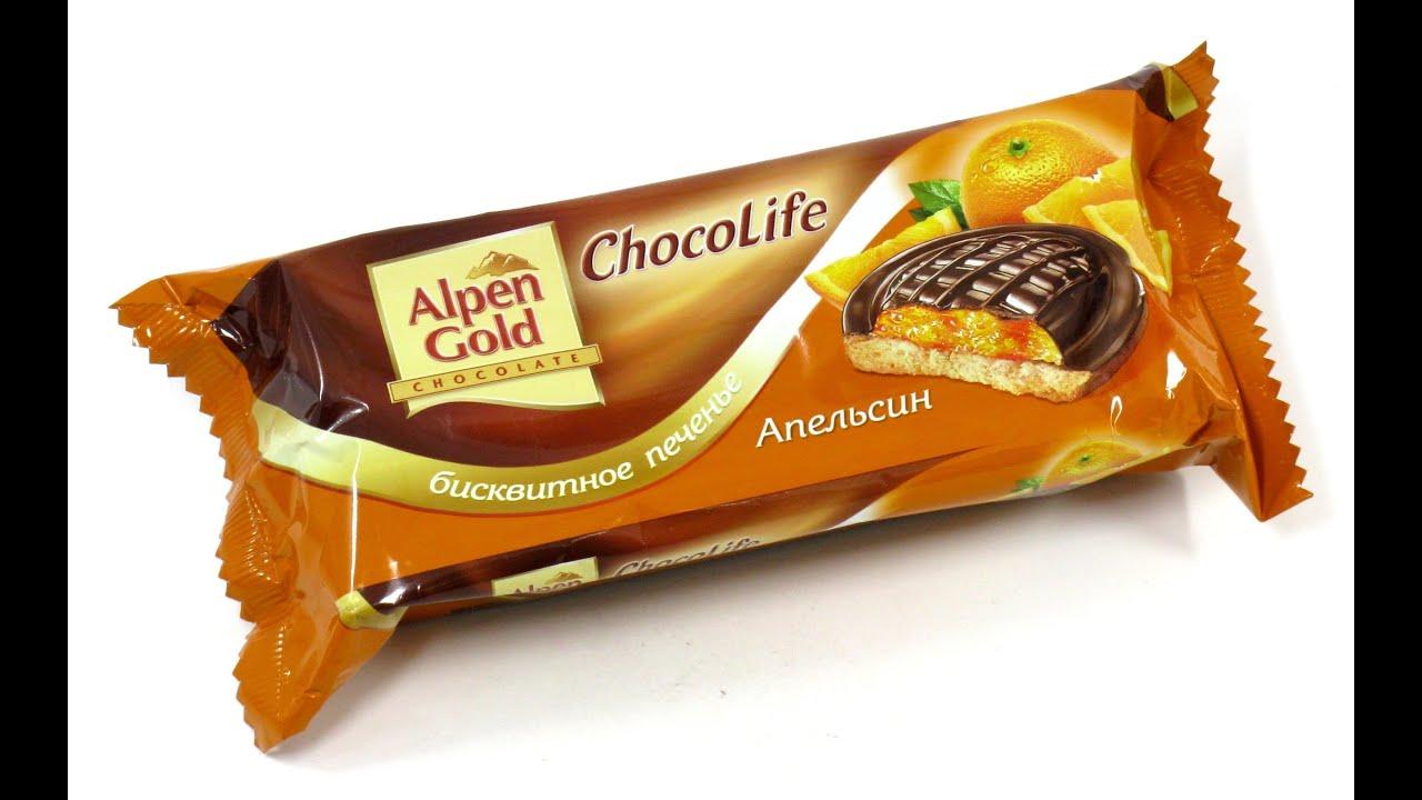 рецепт шоколадного печенья альпен гольд