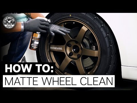 How to Safely Clean & Protect Matte Wheels! - Chemical Guys BMW 328i