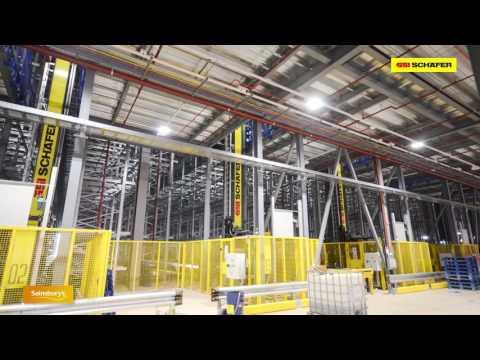 SSI Schaefer realizes National Distribution Center for SAINSBURY'S