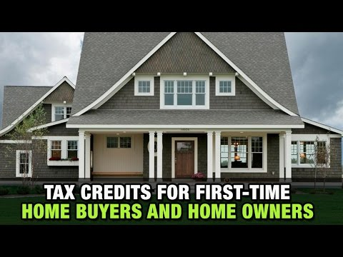 Tax Credits For First