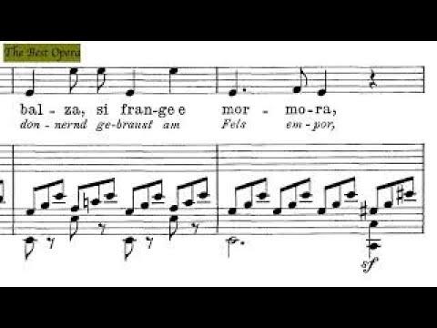 Quell' onda, Lesson 4.2 (Nicola Vaccai) score animation, Soprano/Tenor, Karaoke