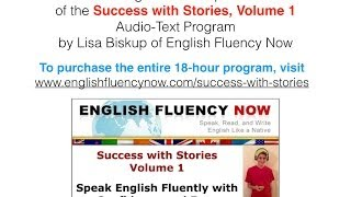 Improve Your Spoken English with Success with Stories - Excerpt from Lesson Set #1