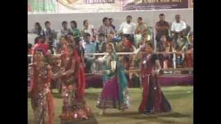 Gujarati Garba Songs Tina Rabari - Lions Club Kalol - 2012 Day 4  Part 13