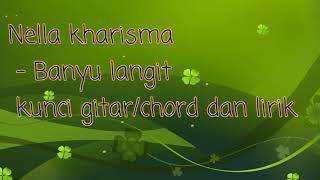 Download lagu Nella kharisma - Banyu langit chord/kunci gitar dan lirik