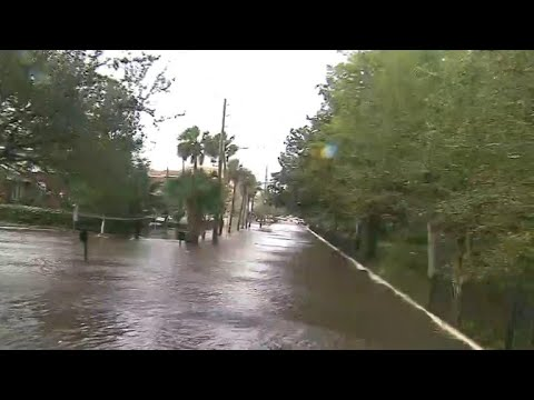 Jacksonville, Florida hit with historic flooding