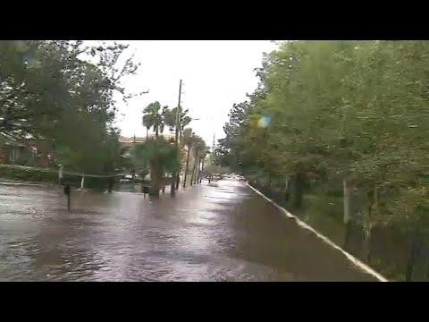 Jacksonville, Florida hit with historic flooding