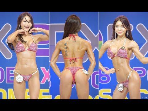 2018 SPOEX WFF - 비키니 쇼트클래스 35번 최나영 선수 영상모음