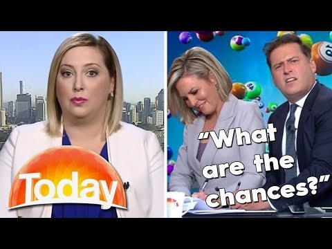 Karl and Georgie troll the Lotto lady   TODAY Show Australia