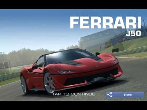 Real Racing 3- Ferrari J50 win gameplay -RR3 - YouTube on